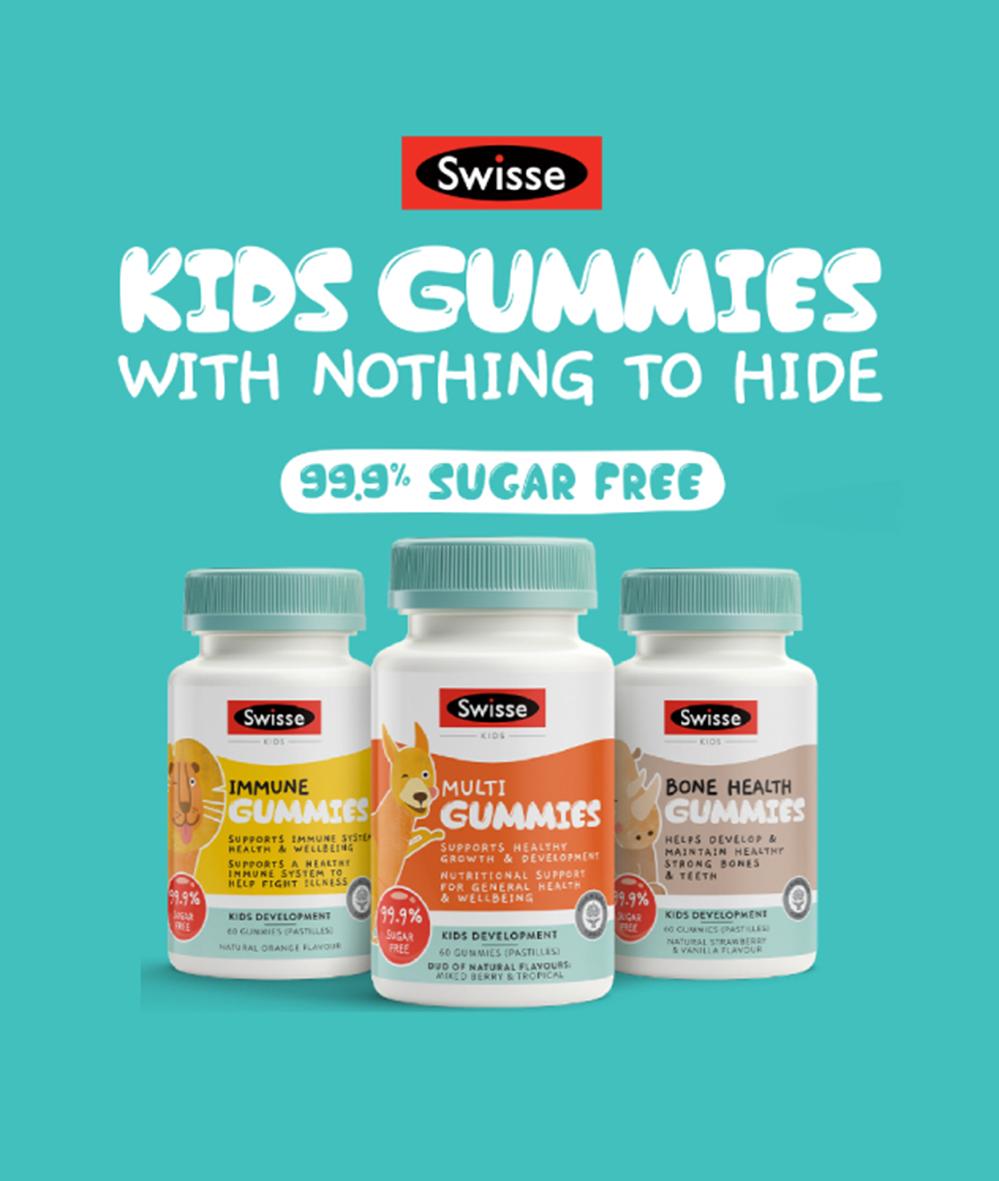 shop swisse Kids Gummies on mobile